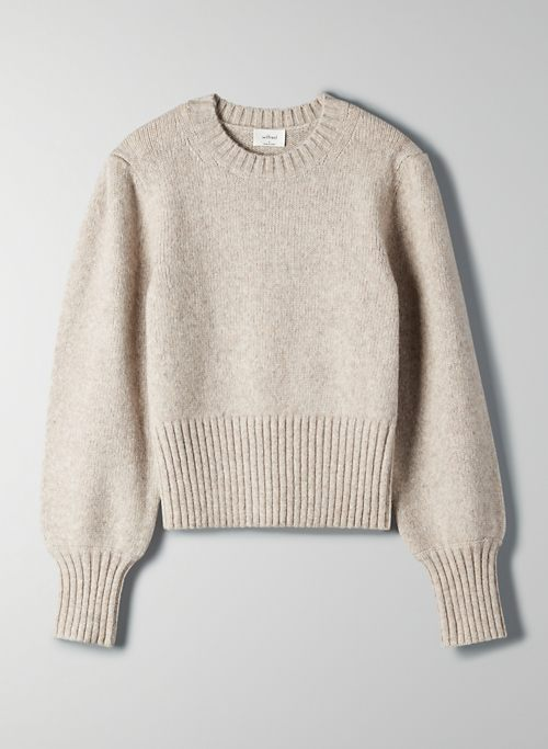 POESY SWEATER - Cropped, cashmere-blend sweater