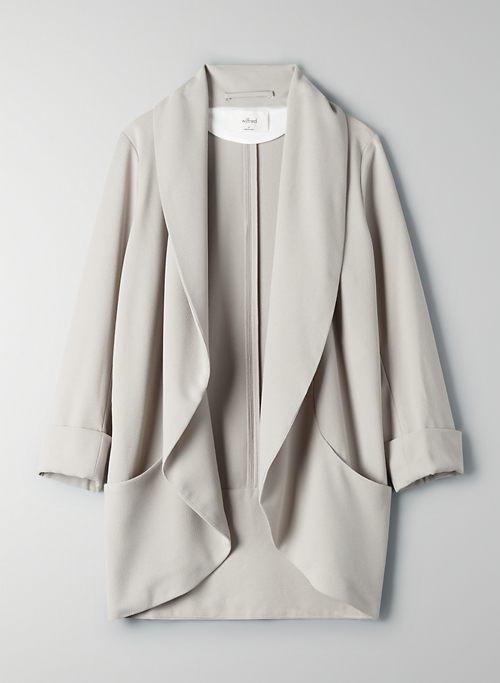 CHEVALIER JACKET - Lightweight, open-front blazer