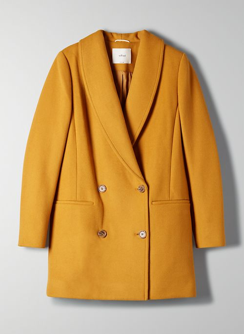 REEVES WOOL COAT | Aritzia