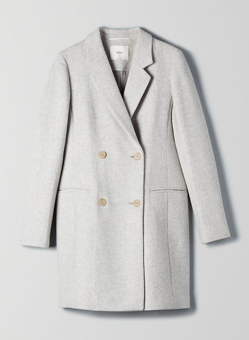 HARRINGTON WOOL COAT | Aritzia