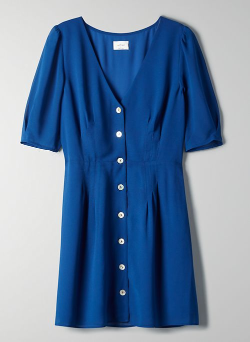 NEW BUTTON-FRONT DRESS
