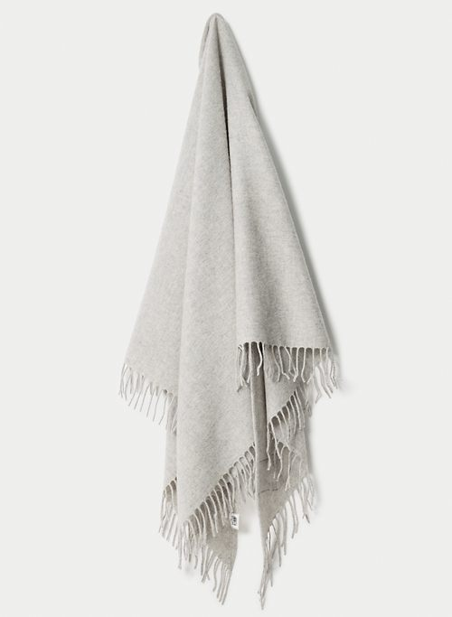 THE CLASSIC WOOL SCARF - Large wool triangle scarf