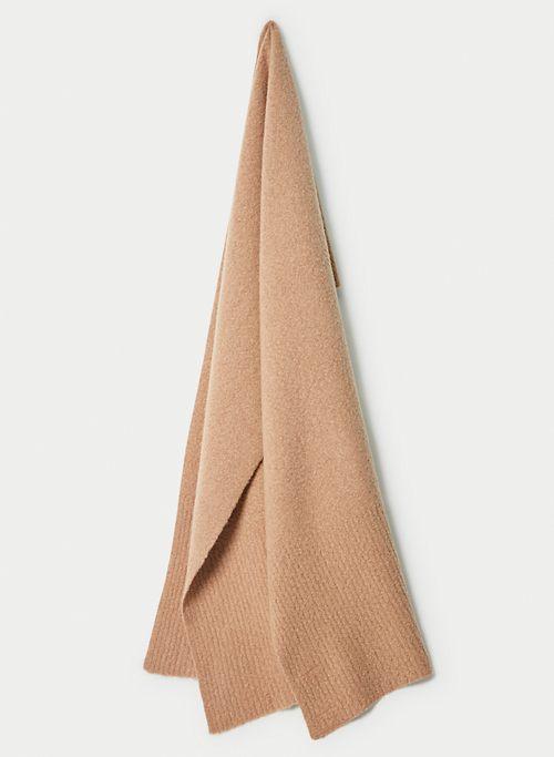 OBLONG BOUCLE SCARF | Aritzia