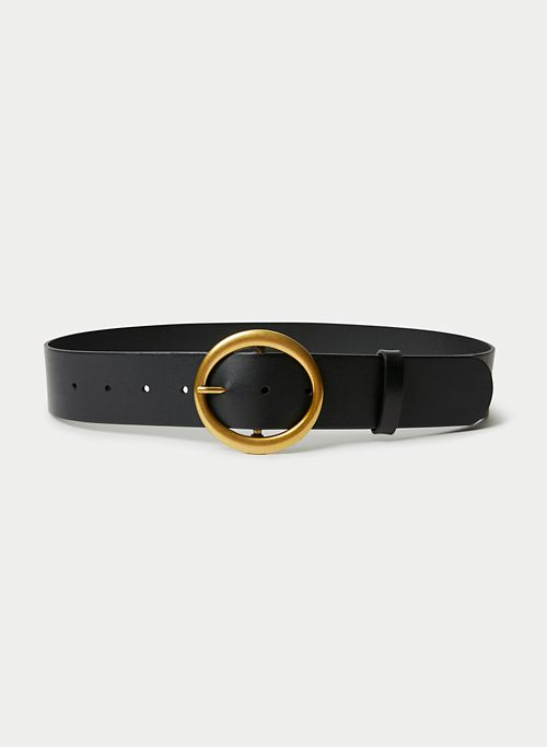 WIDE RING BELT | Aritzia