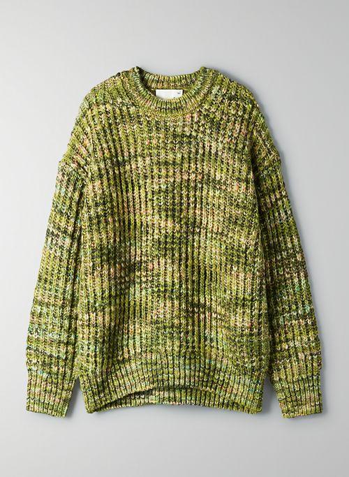 RETROGRADE SWEATER - Chunky wool crewneck sweater