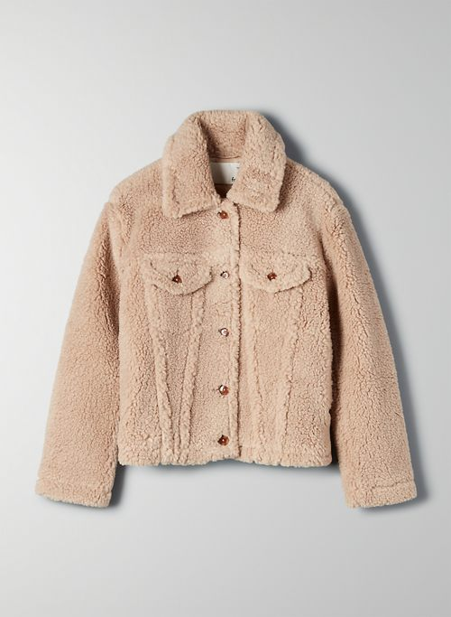 TEDDY TRUCKER JACKET | Aritzia