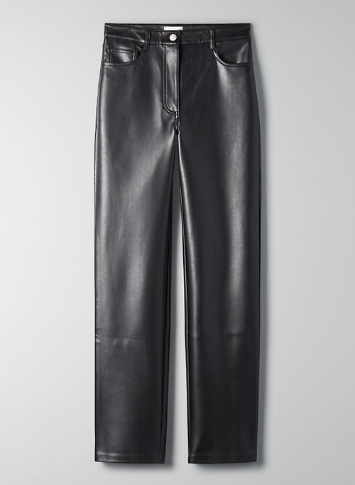 MELINA PANT - Faux leather pants