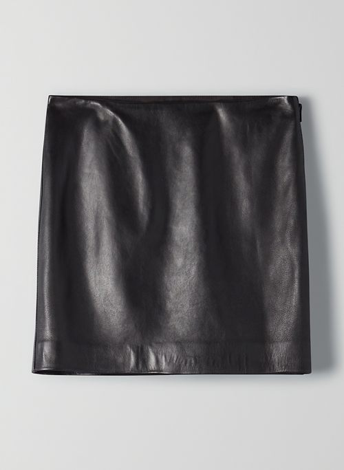 JANIS LEATHER MINI | Aritzia