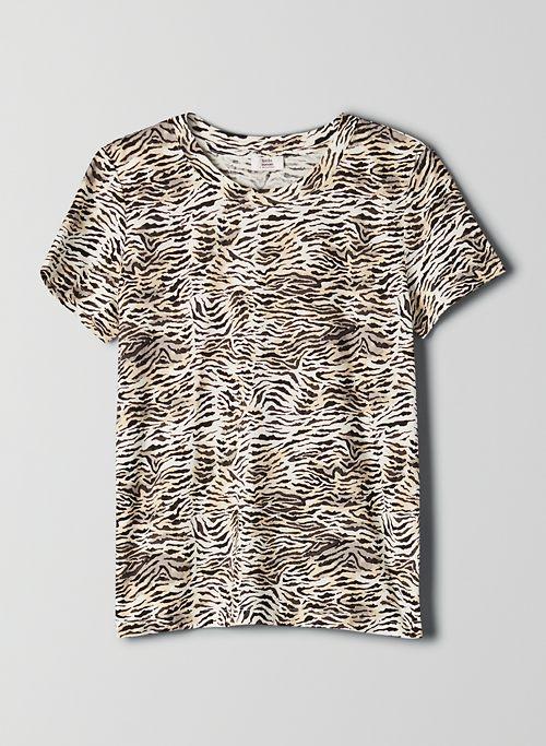 MARTINI T-SHIRT - Zebra-print shirt