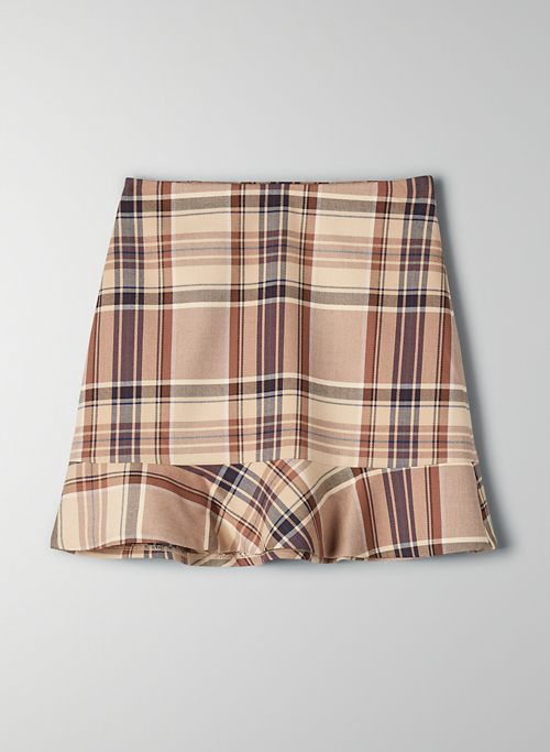 CAMPARI CHECK SKIRT