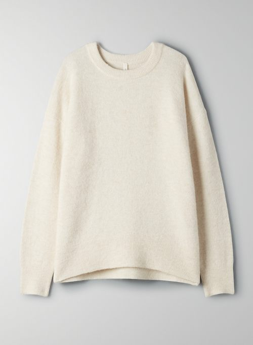 THURLOW SWEATER - Slightly oversized sweater