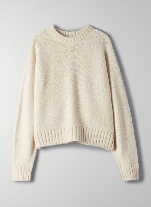 DAY OFF SWEATER - Oversized crewneck sweater