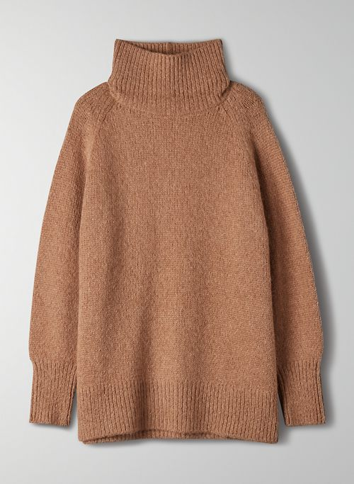 DAY OFF TURTLENECK - Oversized turtleneck sweater