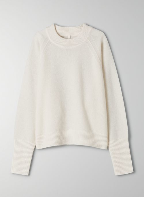 LUXE CASHMERE CLASSIC CREW - Slightly oversized cashmere sweater
