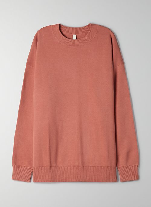 COASTAL SWEATER - Oversized crew neck sweater