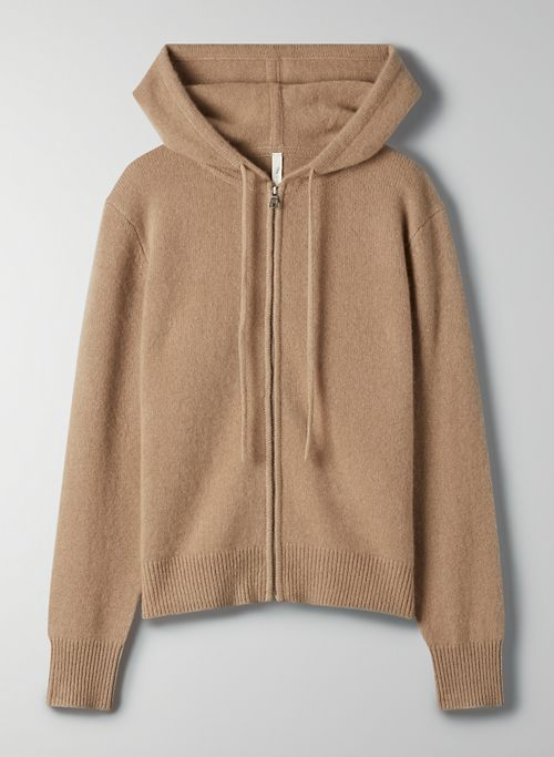 LUXE CASHMERE ZIP-UP