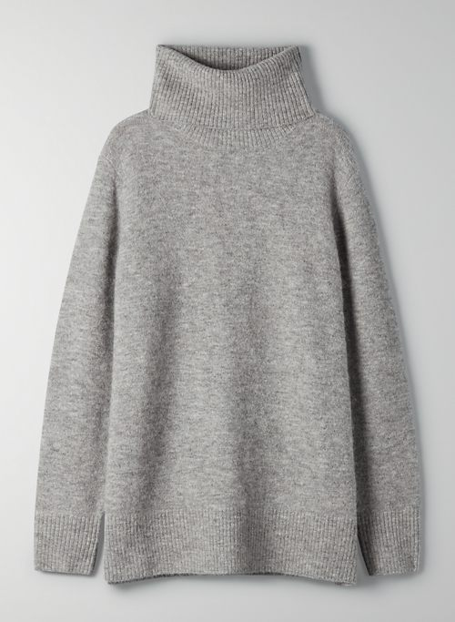 NEW PLUTARCH TURTLENECK - Oversized turtleneck sweater