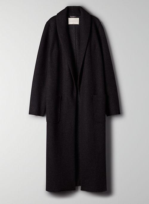 LUXE LOUNGE JACKET - Long sweater jacket