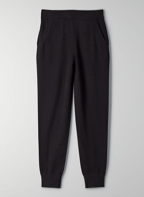 RODIN JOGGER - High-waisted knit jogger