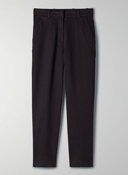 ANDRO PANT - High waisted, straight leg pants