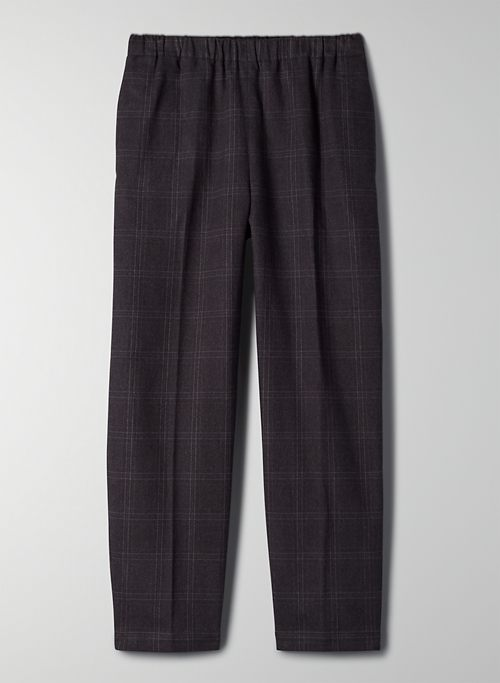 JIMMY PANT - Mid-rise, cropped jogger