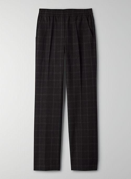 SKYLINE PANT - Mid-rise, straight-leg pants