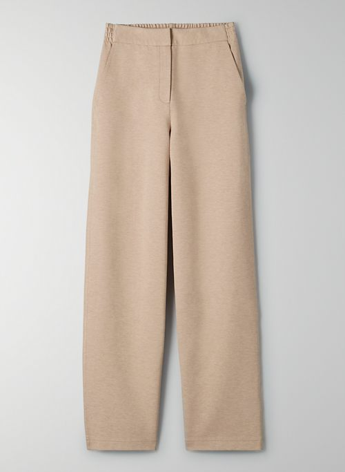TALUS PANT - High-rise casual trousers
