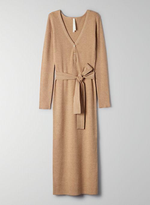 HENLEY SWEATER DRESS | Aritzia