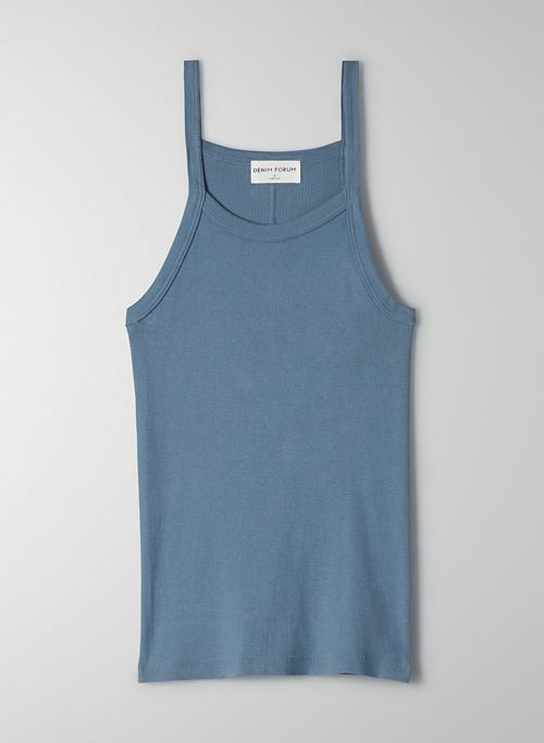 THE JANE RIB TANK - Classic ribbed tank