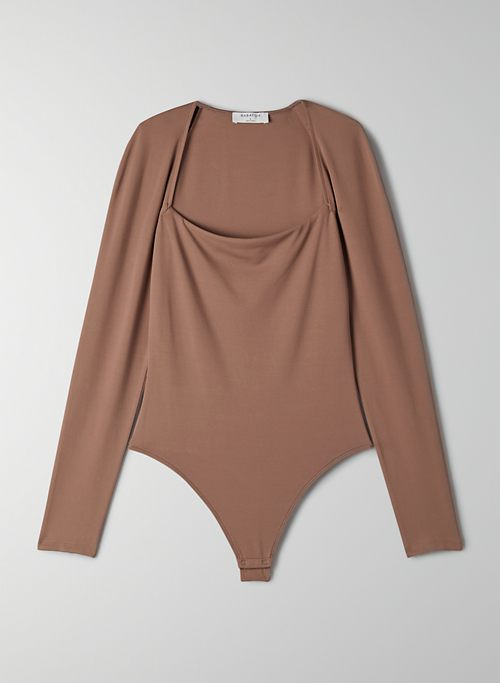CONTOUR STRAIGHT NECK BODYSUIT