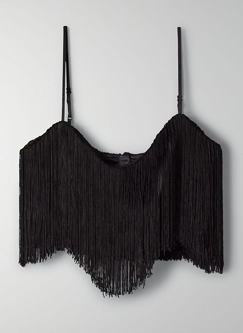 MIRAGE TOP - Fringe crop top