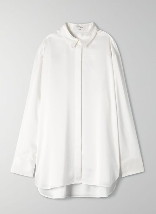 SABLE BUTTON-UP - Satin button-up blouse