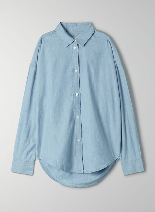 THE JANE LONGSLEEVE SHIRT - Long-sleeve button-up