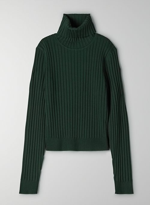 VICTOR TURTLENECK - Fitted turtleneck sweater