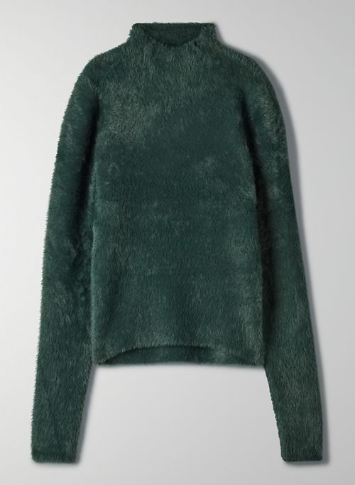 KUMA SWEATER - Cropped, fuzzy sweater