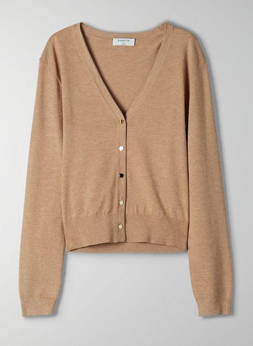 PARASOL CARDIGAN - Classic V-neck cardigan