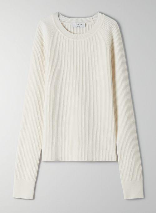 JAMES SWEATER - Crew-neck merino wool sweater