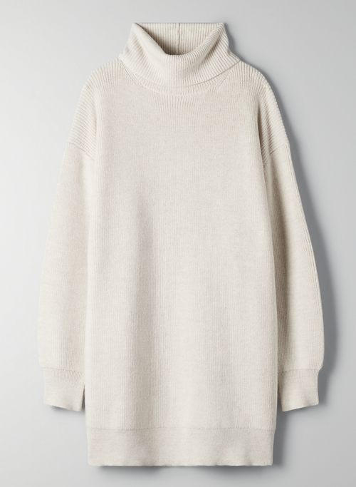MACKAY TURTLENECK - Funnel-neck merino wool sweater