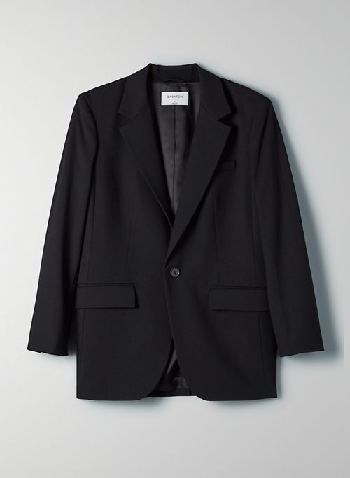 AGENCY BLAZER - Single-breasted boyfriend blazer