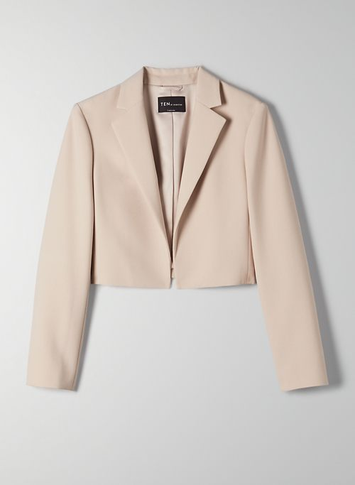 SUPERNOVA BLAZER - Cropped open-front blazer