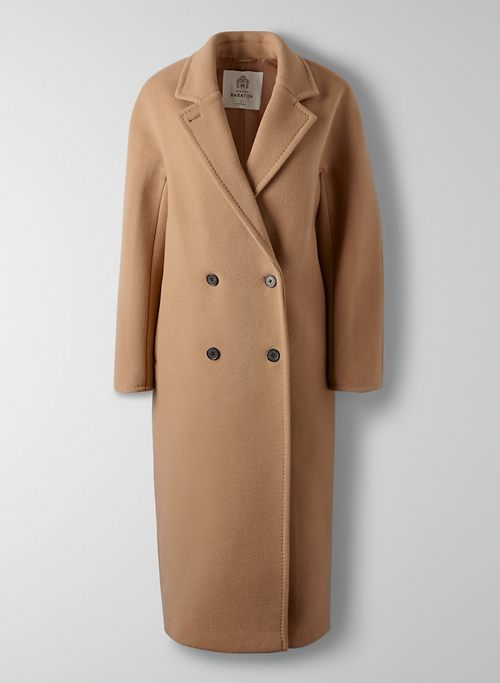 THE SLOUCH - Oversized double-breasted wool coat