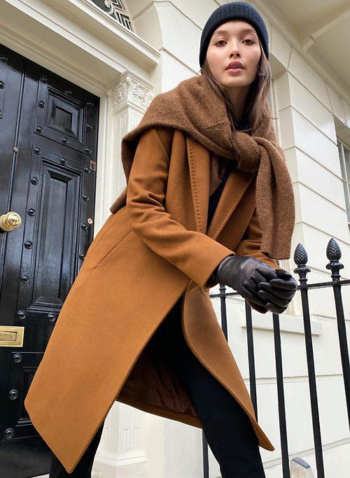 THE STEDMAN COAT - Single breasted wool coat