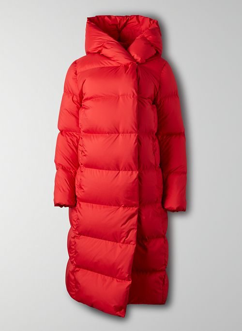 THE DUVET PUFFER - Long puffer jacket