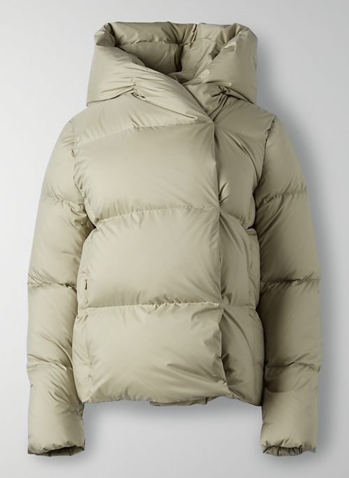 THE DUVET PUFFER SHORT