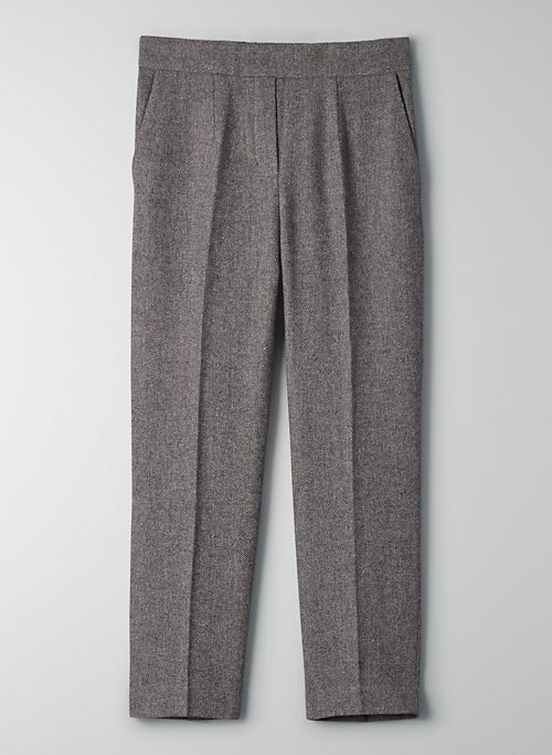 CONAN PANT - Cropped wool trousers