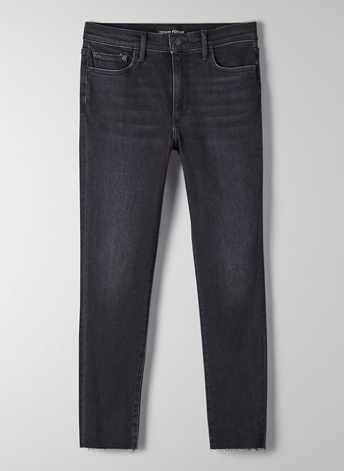 THE NICO MID RISE SKINNY 26L - Cropped skinny jeans