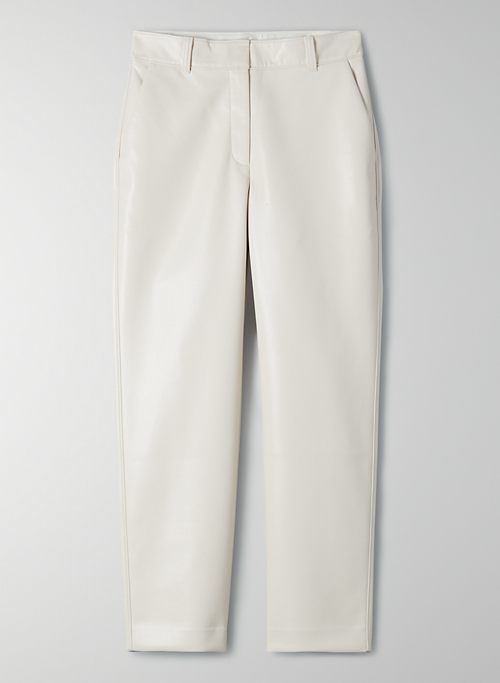 COMMAND PANT - Vegan leather pants