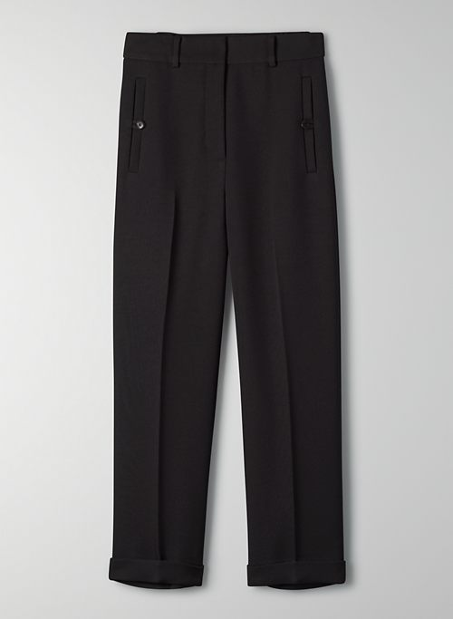 CLUB CUFFED PANT - Cropped cuffed trousers