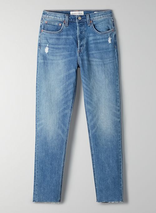 THE YOKO HIGH RISE SLIM 28L - High-waisted slim jeans