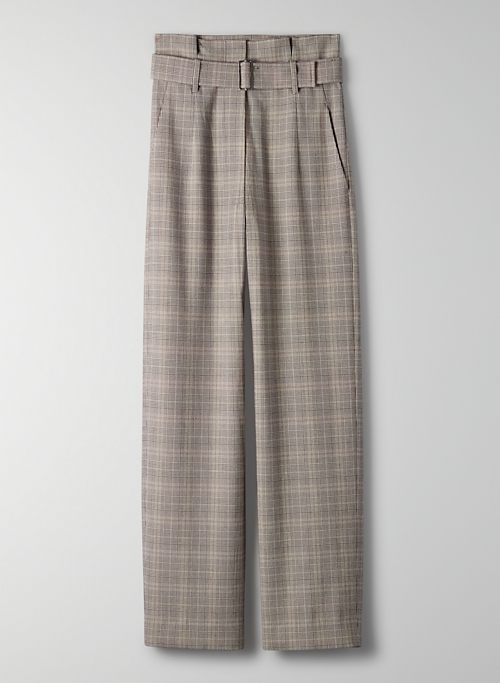 POWER PANT - High-waisted, wide-leg dress pant